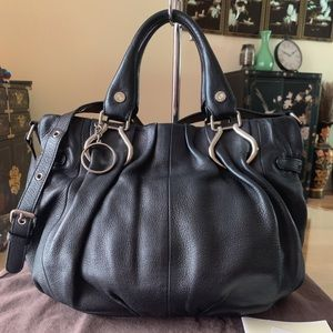 Authentic Celine Cabas Tote Bag